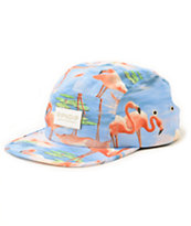 Rip N Dip Flamingo 5 Panel Hat
