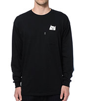Rip N Dip Lord Nermal Long Sleeve Pocket T-Shirt