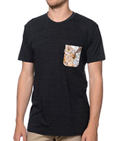 Rip N Dip Nermal Black Pocket Tee Shirt