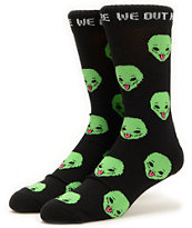 Rip N Dip We Out Here Crew Socks