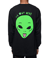 Rip N Dip We Out Here Reflective Long Sleeve Pocket T-Shirt