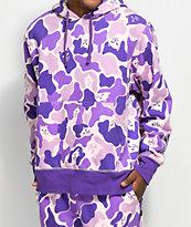 RipNDip Invisible Purple Camo Hoodie