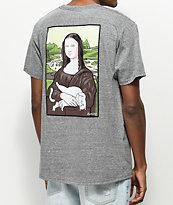 RipNDip Nermalisa Athletic Grey Pocket T-Shirt