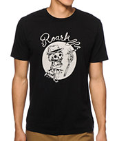 Roark Smoking Skull Tee Shirt