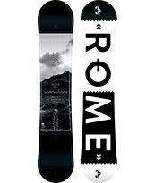 Rome Agent Rocker 154cm Wide Snowboard