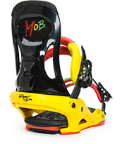 Rome Mob Rasta Snowboard Bindings