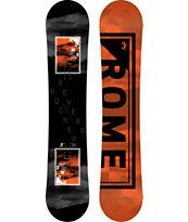 Rome Reverb Rocker 155cm Wide Snowboard