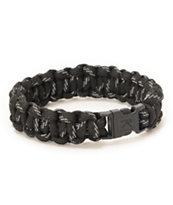 Rothco Paracord Black & Reflective Bracelet