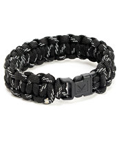 Rothco Paracord Black Reflective Bracelet