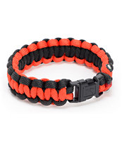 Rothco Paracord Red & Black Bracelet