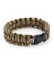 Rothco Paracord Woodland Camo Bracelet