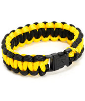 Rothco Paracord Yellow & Black Bracelet