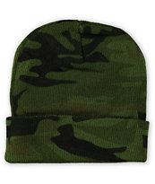 Rothco Watch Woodland Camo Beanie