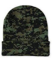 Rothco Watch Woodland Digi Camo Beanie