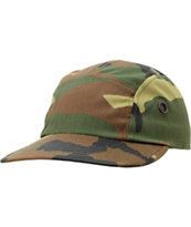 Rothco Woodland Camo 5 Panel Hat