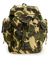 Rothco Woodland Camo Outdoorsman Rucksack Backpack