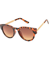 Rounded Cat Eye Tortoise XL Sunglasses