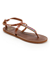 Roxy Amalfi Brown Sandals