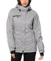 Roxy Band Camp Grey 10K Snowboard Jacket