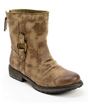 Roxy Bleeker Army Green Boots