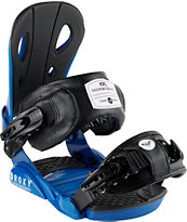 Roxy Classic Black & Blue 2014 Snowboard Bindings
