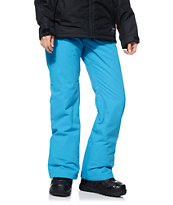 Roxy Dynamite Blue 10K Girls Snowboard Pants 2014