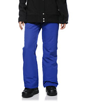 Roxy Dynamite Clematis Blue 10K Girls Snowboard Pants 2014