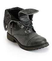 Roxy Ember Black Boots