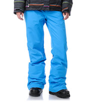 Roxy Evolution Blue 2013 8K Snowboard Pants