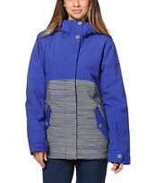 Roxy Fast Times Purple 10K Girls 2014 Snowboard Jacket