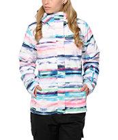 Roxy Jetty 3N1 Scenic Stripes 10K Snowboard Jacket