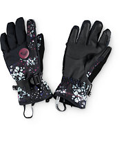 Roxy Jetty Ditsy Floral Snowboard Gloves