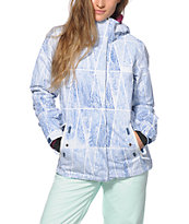Roxy Jetty Geo Forest 10K Snowboard Jacket