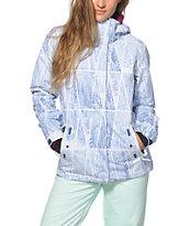 Roxy Jetty Geo Forest 10K Snowboard Jacket