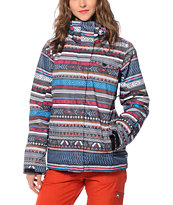 Roxy Jetty Toluca Stripe 10K Snowboard Jacket