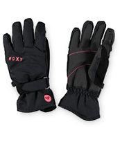 Roxy Mouna Black Snowboard Gloves