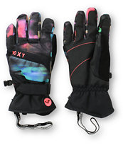 Roxy Mouna Black Snowboard Gloves