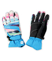 Roxy Mouna Scenic Stripe Snowboard Gloves