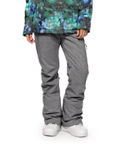 Roxy Nadia Grey 10K Snowboard Pants
