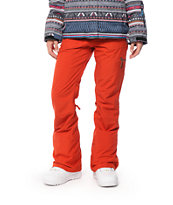 Roxy Nadia Red 10K Snowboard Pants