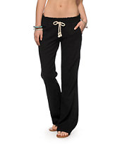 Roxy Oceanside Black Beach Pants