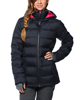 Roxy Powderpuff Black 15K Girls 2014 Down Jacket