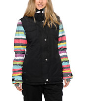 Roxy Rizzo Pool Stripe 10K Snowboard Jacket