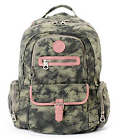 Roxy Ship Out Grape Leaf Green Backpack