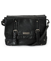 Roxy Still Free Black Cross Body Purse