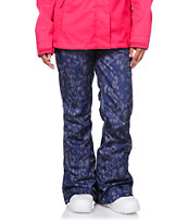 Roxy TB Supernova Print Charcoal 10K Girls Snowboard Pants 2014