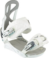 Roxy Team Bright White 2014 Snowboard Bindings