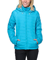 Roxy Toasty Insulator Blue Girls 2014 Jacket