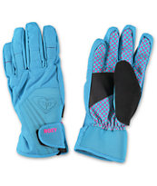 Roxy Tyia Blue Women's Snowboard Gloves