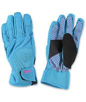 Roxy Tyia Blue Women's Snowboard Gloves